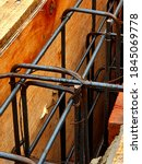 A Series Of Iron Rods For The...