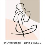 continuous line illustration...   Shutterstock .eps vector #1845146632