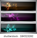 bright abstract banners... | Shutterstock .eps vector #184523282