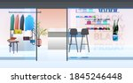 modern fashion shop interior...   Shutterstock .eps vector #1845246448