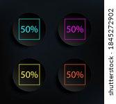 data percentage dark badge...