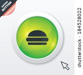 hamburger sign icon. fast food...