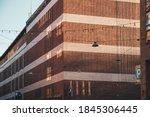 exterior of a red brick modern... | Shutterstock . vector #1845306445