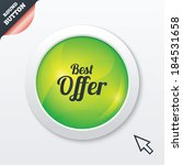 best offer sign icon. sale...