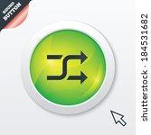 shuffle sign icon. random...