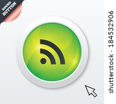 rss sign icon. rss feed symbol. ...