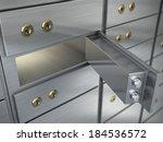 safe cell  safe deposit box   Shutterstock . vector #184536572