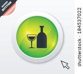alcohol sign icon. drink symbol....