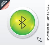 bluetooth sign icon. mobile...