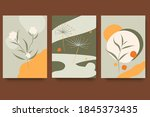 modern minimalist abstract...   Shutterstock .eps vector #1845373435