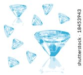 diamonds collection for your... | Shutterstock .eps vector #18453943