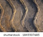 Tinted Photo Of Footprints In...