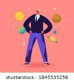 ego  narcissistic self love...   Shutterstock .eps vector #1845535258
