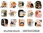 contemporary shapes graphics... | Shutterstock .eps vector #1845642868