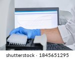 A Researcher Putting Pcr Plate...