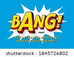 comic book style font design ... | Shutterstock .eps vector #1845726802