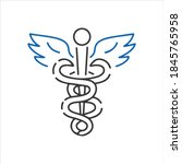 vector icon for healthcare male ...   Shutterstock .eps vector #1845765958