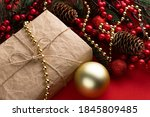 Concept Of Christmas Gifts On...
