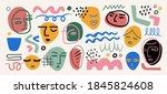 modern abstract elements set ... | Shutterstock .eps vector #1845824608