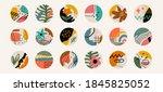 modern abstract elements set ...   Shutterstock .eps vector #1845825052