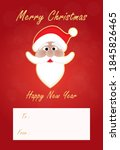 simple christmas and new year... | Shutterstock .eps vector #1845826465