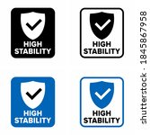 """""""high stability"""" and efficiency ... 