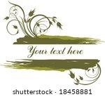 abstract frame | Shutterstock .eps vector #18458881
