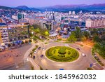 Podgorica Montenegro In The...