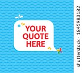 dolphin vector quotes template...   Shutterstock .eps vector #1845983182