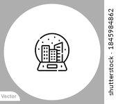 souvenir icon sign vector... | Shutterstock .eps vector #1845984862