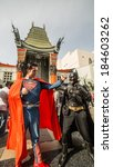 Постер, плакат: Batman vs Superman outside