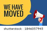 we have moved new office... | Shutterstock .eps vector #1846057945