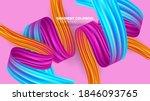 color brushstroke oil or... | Shutterstock .eps vector #1846093765