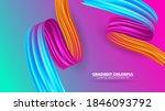 color brushstroke oil or... | Shutterstock .eps vector #1846093792