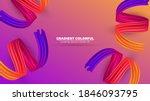 color brushstroke oil or... | Shutterstock .eps vector #1846093795