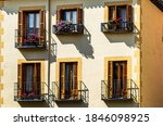 Colorful Window Boxes Against...