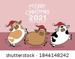 merry christmas and happy new... | Shutterstock .eps vector #1846148242