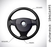 Steering Wheel Isolated.