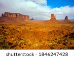 The Usa. Monument Valley Is...