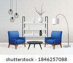 interior realistic composition...   Shutterstock .eps vector #1846257088