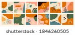 abstract backgrounds collection.... | Shutterstock .eps vector #1846260505