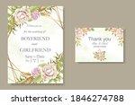 elegant beautiful floral... | Shutterstock .eps vector #1846274788