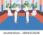 Martial Arts Training Flat...