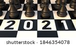 2021  Chess New Year. Number...