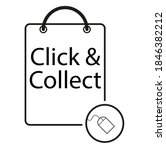 click and collect internet... | Shutterstock .eps vector #1846382212