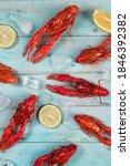 Crayfish. Red Boiled Crawfishe...