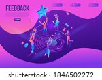 feedback concept with 3d... | Shutterstock .eps vector #1846502272