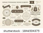 vintage typographic design... | Shutterstock .eps vector #1846504375