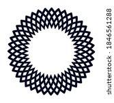 vector circular border.... | Shutterstock .eps vector #1846561288