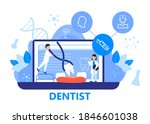 dentist service vector concept... | Shutterstock .eps vector #1846601038
